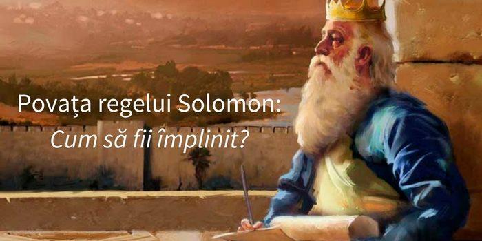 regele-solomon-povata